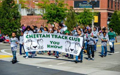 Cheetahs at the Daffodil Parade